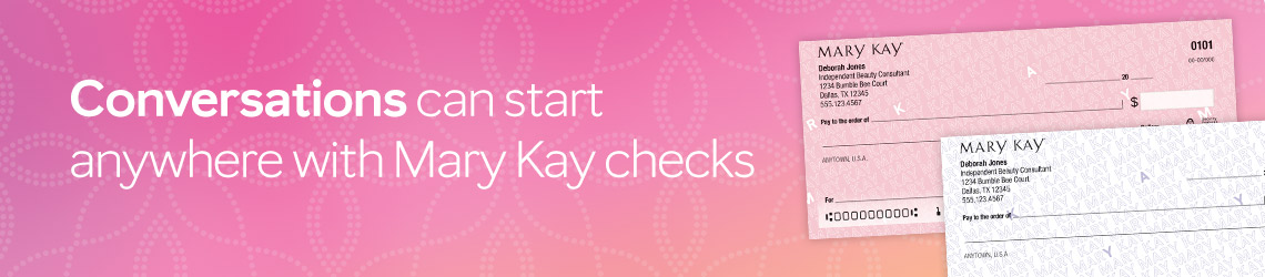 Shine Light on Your Business - Order Mary Kay Checks Today