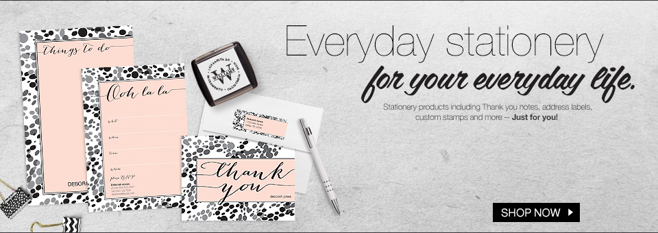 Everyday Stationery for Your Everyday Life