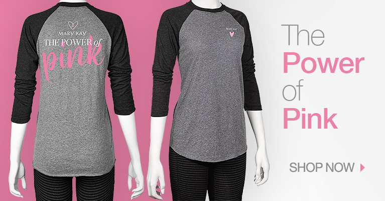 The Power of Pink 3/4 Sleeve Shirt - Shop Now