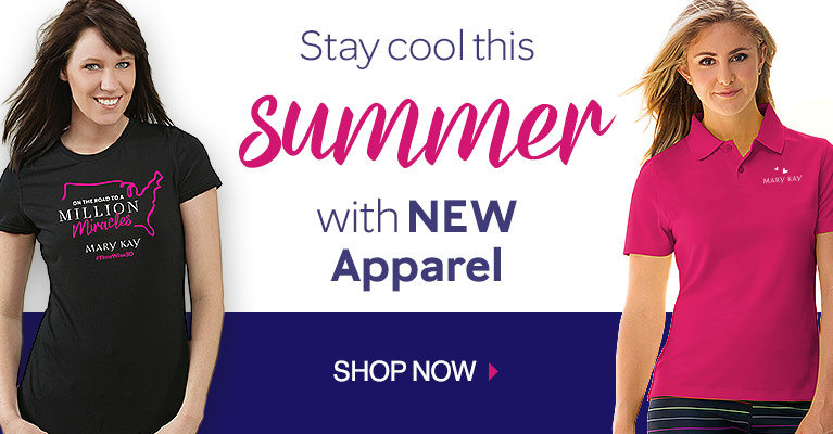 Stay Cool this Summer with New Apparel - Shop Now