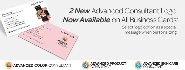 Shop mary kay business cards and calendars mkconnections advanced color consultant now avaliable on all business cards colourmoves