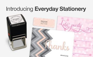 Introducing Everyday Stationery.