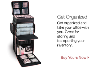 Get Organized and Take Your Office With You. Great For Storing and Transporting Your Inventory.