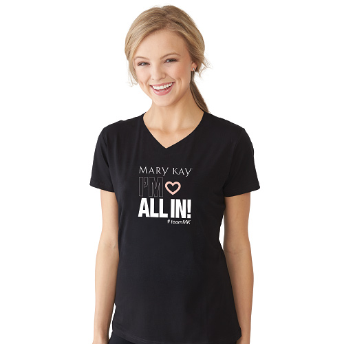 All In V Neck T-shirt