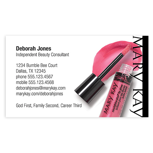 Mary Kay Business Cards Vistaprint Images Card Design And Ideas Reheart