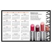 Lip Color Magnetic Calendar