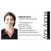 Shop mary kay business cards and calendars mkconnections consultant photo business card cheaphphosting Choice Image