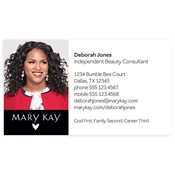 Shop mary kay business cards and calendars mkconnections consultant photo magnetic business card colourmoves