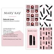 Shop mary kay business cards and calendars mkconnections graphic splash business cards reheart Choice Image