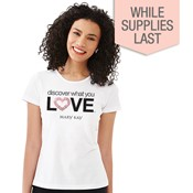 Discover What You Love Bling Tee