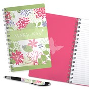 Floral Garden Journal & Pen Combo, Non Personalized