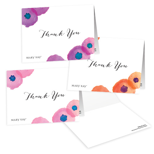 Floral Thank You Notes - Personalized