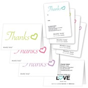 Thank You Hearts Gift Tag Combo Set
