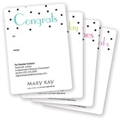 All Occasion Dots Gift Tag Stickers