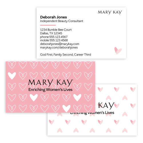 Heartfelt Business Cards - MARY KAY CONNECTIONS