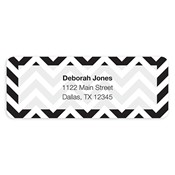 Bold Chevron Address Labels