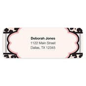 Fashionably Fun Pink Address Labels