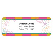 Sassy Celebration Address Labels