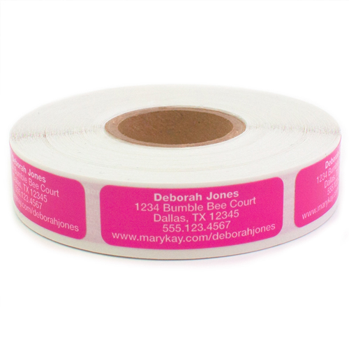 Bright Pink Product Reorder Labels
