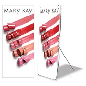 Lip Color Standing Event Banner, Non Personalized