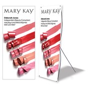 Lip Color Standing Event Banner, Personalized