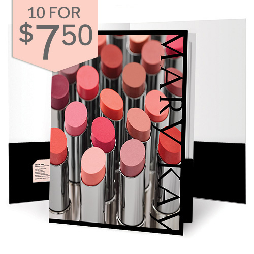 Lip Color Presentation Folders