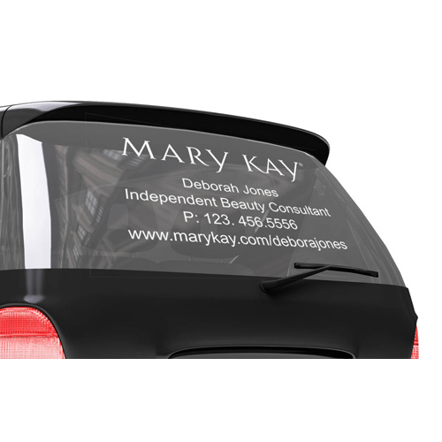 Vinyl Letter Car Decal MARY KAY CONNECTIONS - Letter custom vinyl decals for car